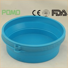 Cheap high quality collapsible travel silicone bowls pet/dog feeding bowl from china
