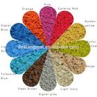 color epdm rubber crumb for sale