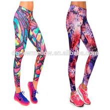 custom printed women compression tights leggings