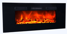 Wall-mounted Luxury Electric Fireplace Lage Size, Electric Fireplace with remote control