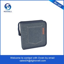 best popular Portable nylon CD case with 24 disk from china supplier