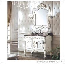 marble top bathroom vanity/ canada style bathroom cabinet/used bathroom vanity cabinet