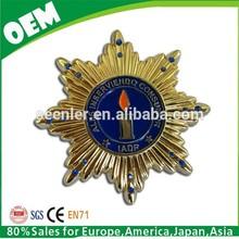 Any Rush Order is available,Custom Metal Pin Lapel Badge Emblem