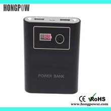 famous brand 5V2.1A dual USB 12000mah smart mobile power bank+manual with CE,ROHS,FCC,MSDS,UN38.3