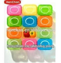 hot sale transparent walmart plastic storage bins