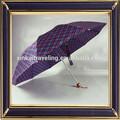 Alta qualidade personalizar fornecedor guarda-chuva para a promoção 3 dobram