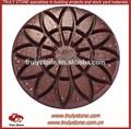híbrido rosex piso pulido de la resina para el hormigón