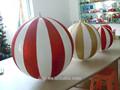 venda quente big plástico bolas de natal
