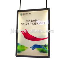 Advertising hanging acrylic poster light frame