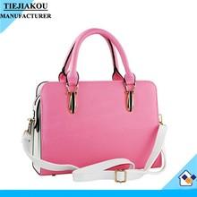 latest hot pu leather handbags ladies bag fashion women bag