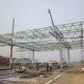 del marco estructural de la construcción de peso ligero de acero vigas del techo de los precios
