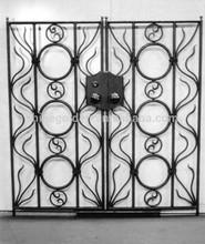Galvanized Steel Tube Gates Steel Gate Security Steel Exterior Entry GYD-15G0001
