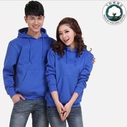 Best selling CVC blank Men thick fleece pullover hoodies