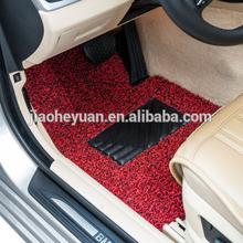 Dustproof durable economical car floor mats for PVC