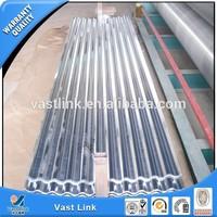 gauge thickness galvanized corrugated steel sheet / 24 gauge corrugated steel roofing sheet