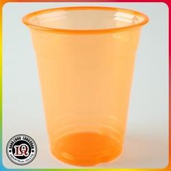 16oz plastic colored disposable PET cup