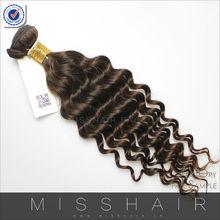 Virgin human hair factory number 2 hair color weave