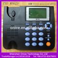 zte inalámbrico fijo gsm de teléfono wp623 mp3 mensaje de voz de fm inalámbrico de radio fm del teléfono móvil