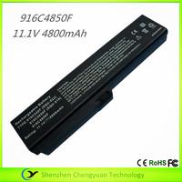 100% New laptop battery for Fujitsu 916C4850F netbook