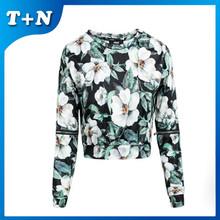 wholesale high fashion womens winter sweatshirt