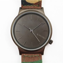 Military fabric strap camouflage watches men& women, brand men's quartz watch