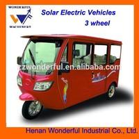 Sunshine E-Car 3 wheel solar electric car
