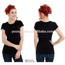WCS160-C free shpping wholesale fashion 100% cotton 5 color 5 color choose tear-away lady elle T-shirts