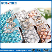 Luxury Rhinestone Diamond Bling case for Galaxy Note 2 Rhinestone case for Samsung