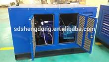 150kw silent type natural gas generator