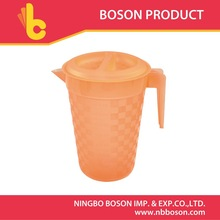 3.7 L plastic water pitcher with lid