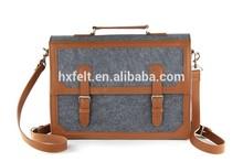 High Quality Fashion Felt Briefcase