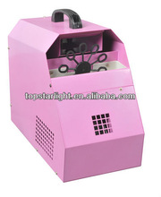 2013 hot selling fog bubble machine (pink color)