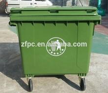 1100L mobile garbage bin industrial bin 1100L garbage bin