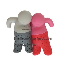 BPA free FDA Approved Wholesale Fred Mr Tea Silicone Tea Infuser