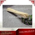 desechables ronda de bambú asador brocheta de bambú palo