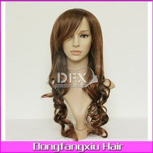 wholesale german synthetic hair wigs/cheap human hair wigs/kids synthetic hair wigs(yak590x-2-30)