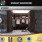 SNW-065 wooden wardrobe cabinet in bedroom set