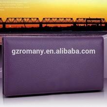 factory outlet women wallets/ leather wallets women OEM genuine top layer/wholesale/long/fashion/handbag/clutch/bi-fold fashion