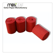 0.05*25m colorful handcraft crepe paper roll