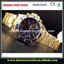 men watches luxury 18k gold chinese mechanical watch
