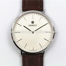 Western luxury leather watch men, men's wrist watches, brand watches women& men