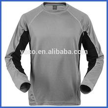 Men moisture wicking long sleeve t-shirts wholesale