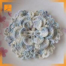 (YJC15862 Factory) Hand embroidery flower neck design crochet for kurta