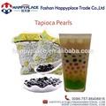 Hot item preto pérolas de tapioca para chá da bolha, chá boba, taiwan chá de leite