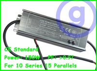 CE standard Waterproof LED driver 150W