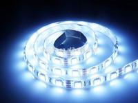 5050 SMD LED 3chips Cuttable DC 12V Waterproof STRIP Ribbon Flexible light Under