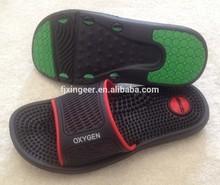 2015 new design fashion eva massage pvc slipper