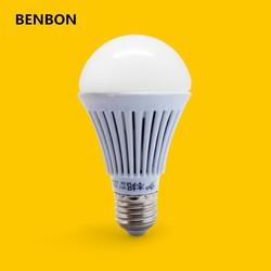 BENBON LED Lamp E27 5w Scrubed LED Bulb High Power Energy Saving Light Bulb Lamp Warm White Wholesale Bulb