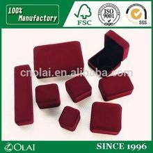 Custom Wholesale Velvet Jewelry Packaging Box