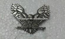 hot selling animal lapel pins, owl lapel pin